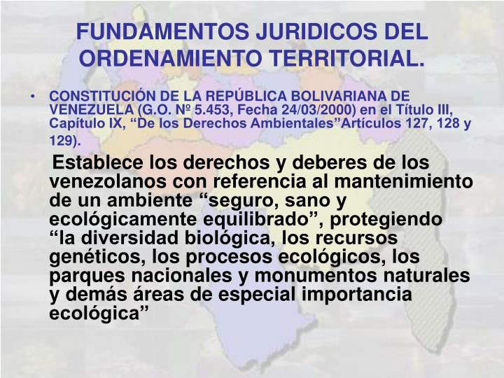 CONSTITUCIÓN DE LA REPÚBLICA BOLIVARIANA DE VENEZUELA (