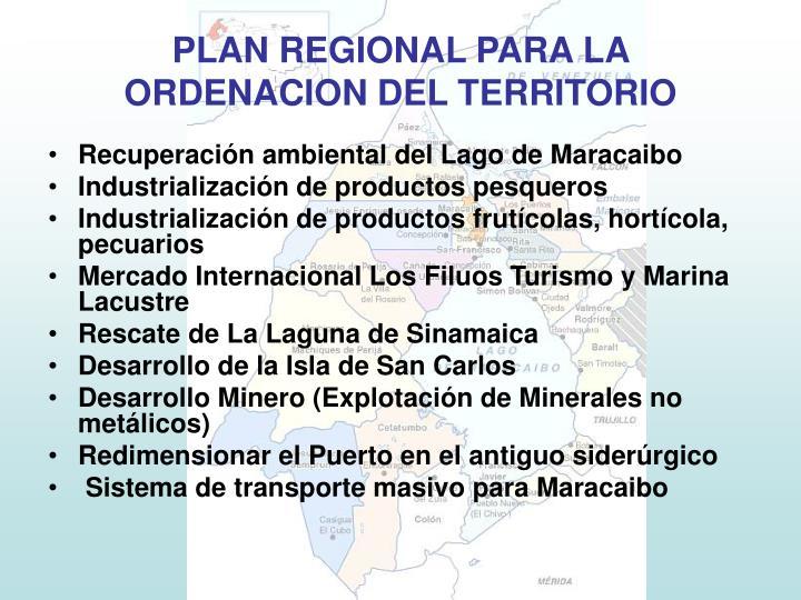 Recuperación ambiental del Lago de Maracaibo