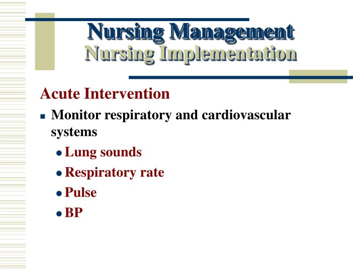 Nursing Management