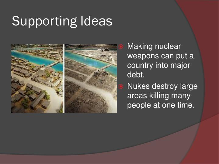 Supporting Ideas