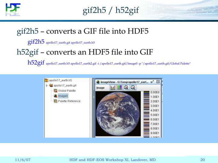 gif2h5 / h52gif