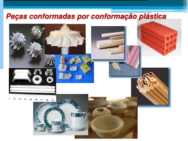 Peças conformadas por conformação plástica