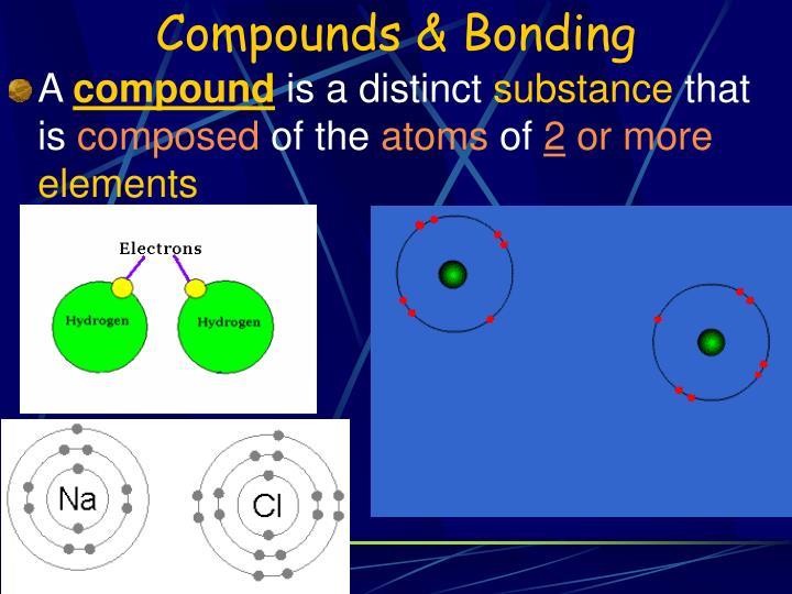 Compounds & Bonding