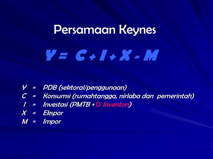 Persamaan Keynes