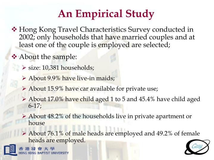 An Empirical Study