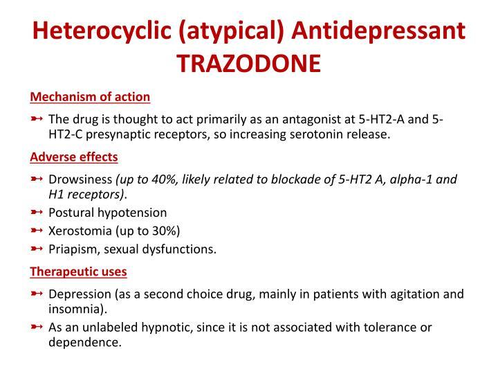 Heterocyclic (atypical) Antidepressant