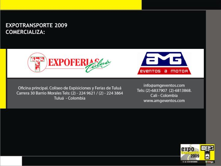 EXPOTRANSPORTE 2009