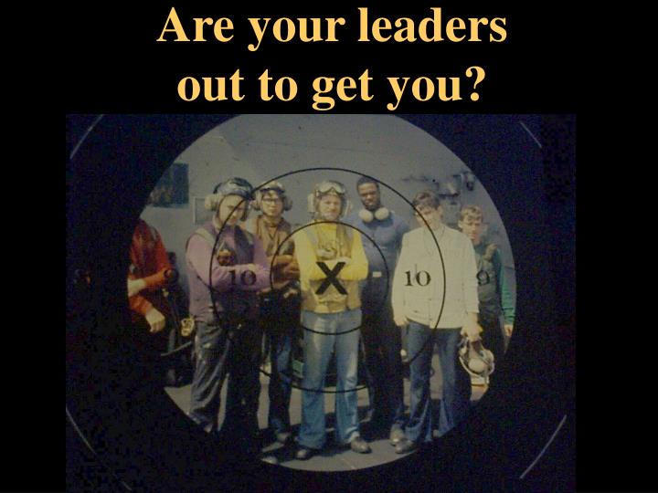 Are your leaders