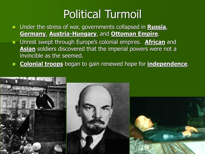 Political Turmoil