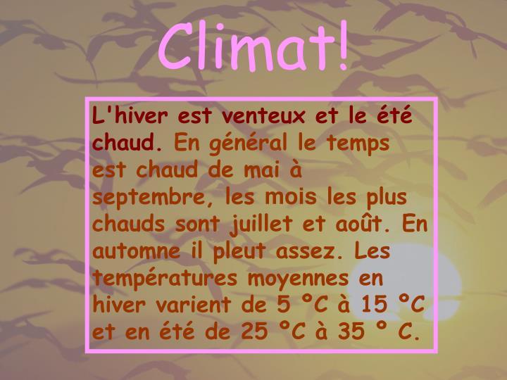 Climat!