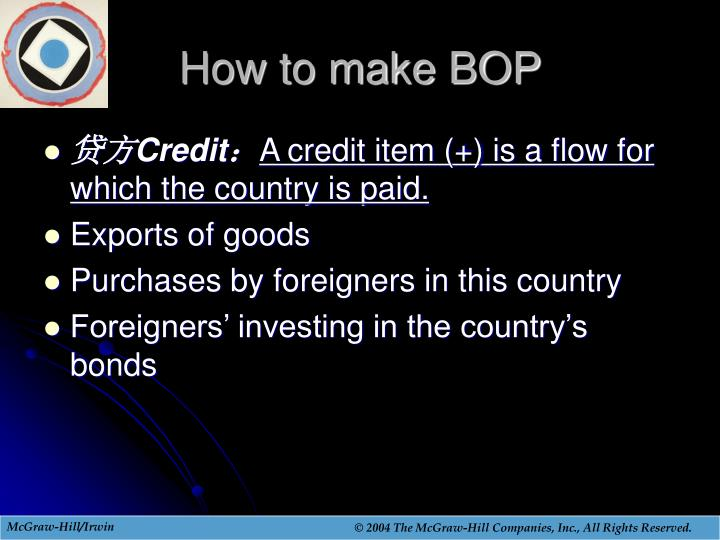 How to make BOP