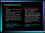 competences 2