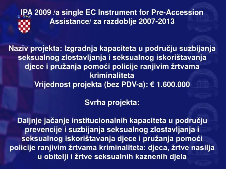 IPA 2009 /