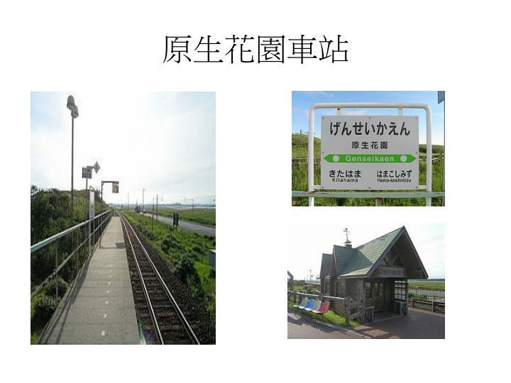 原生花園車站