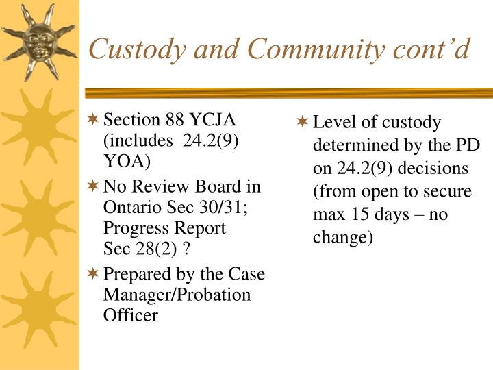 Section 88 YCJA (includes  24.2(9) YOA)