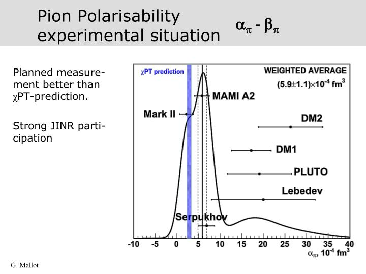Pion Polarisability
