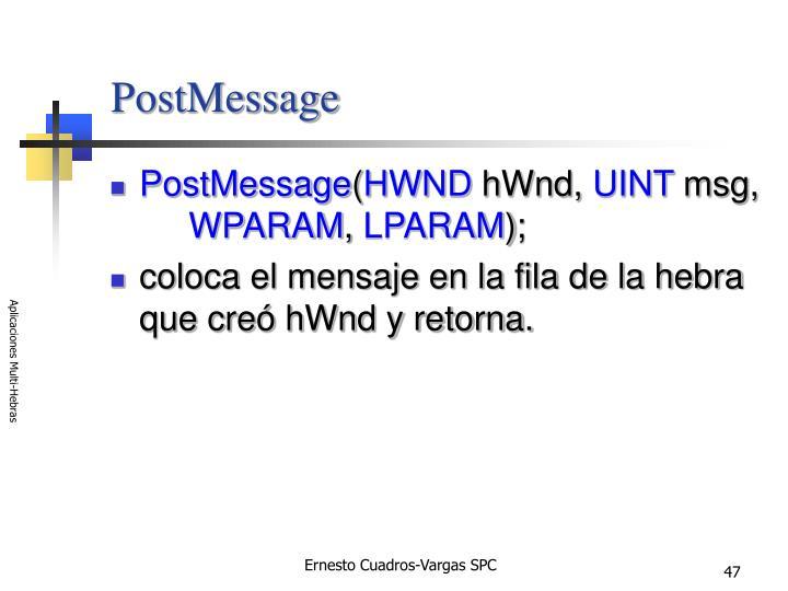 PostMessage
