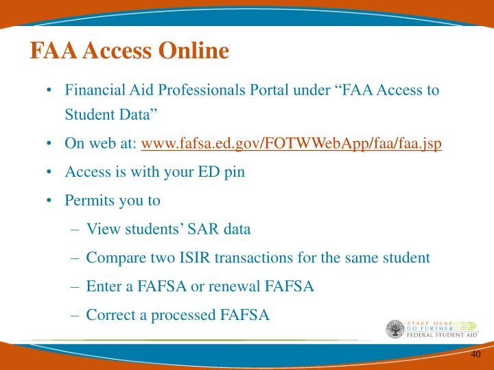 FAA Access Online
