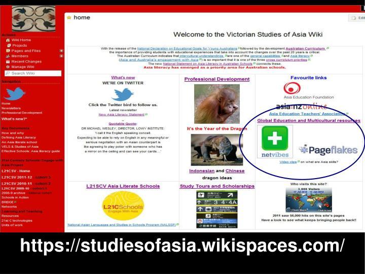https://studiesofasia.wikispaces.com/