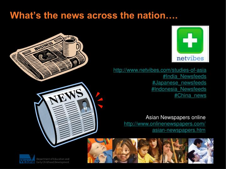 What's the news across the nation….