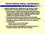 secure software testing considerations2