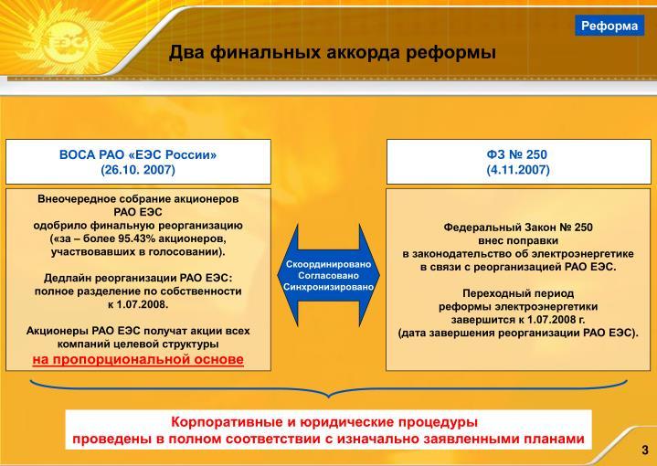 ВОСА РАО «ЕЭС России»