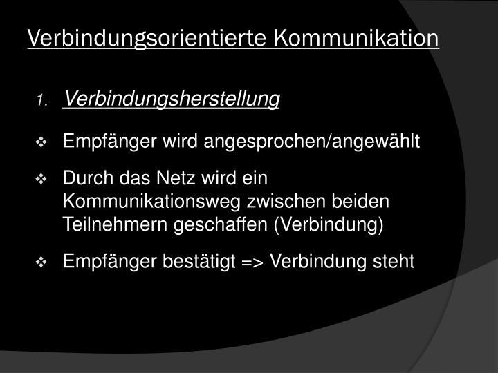 Verbindungsorientierte Kommunikation