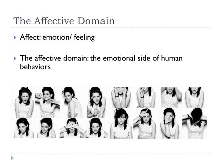The affective domain