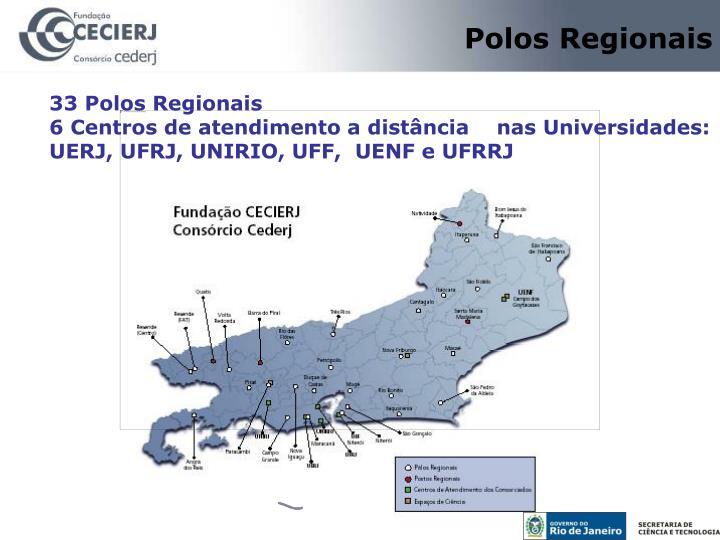 Polos Regionais