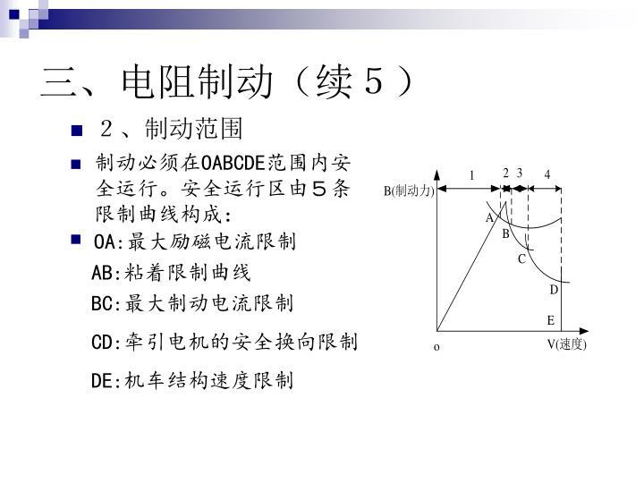 三、电阻制动(续5)