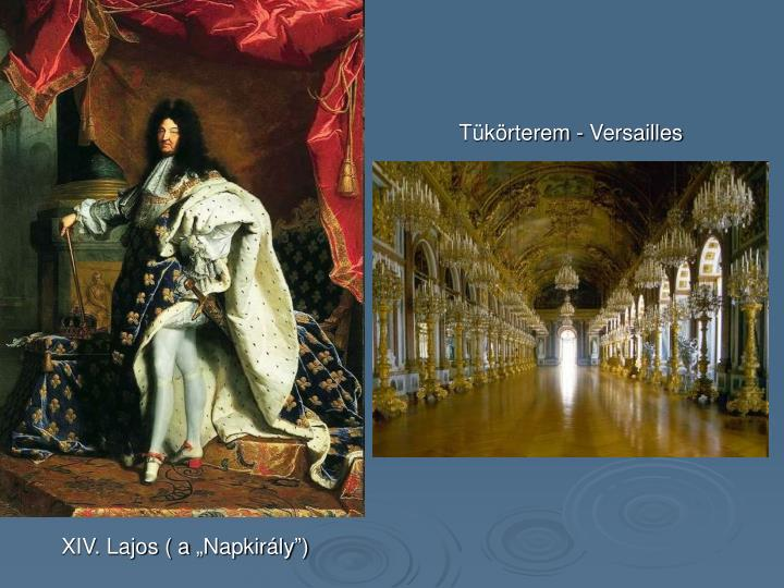 Tükörterem - Versailles