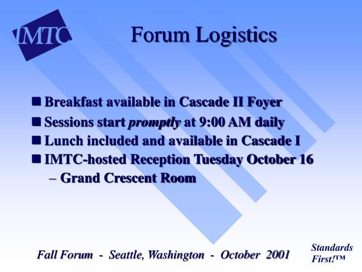 Forum Logistics