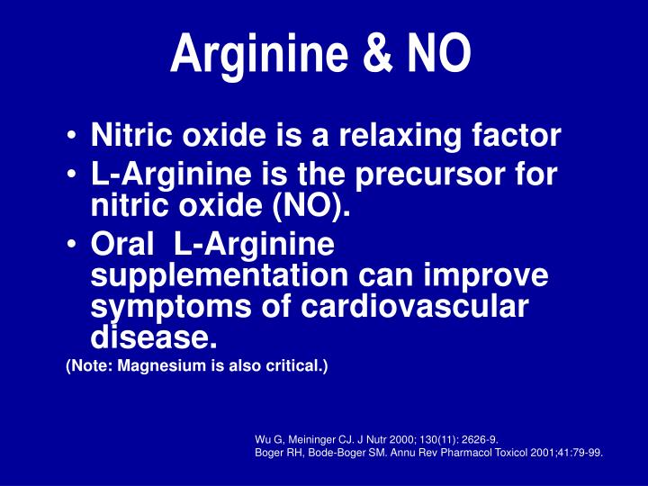 Nitric oxide is a relaxing factor