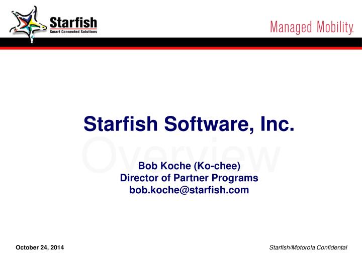 Starfish Software, Inc.