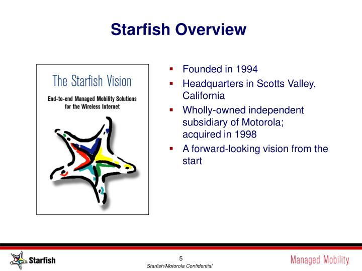 Starfish Overview