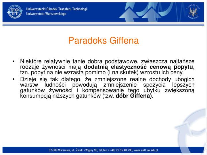Paradoks Giffena