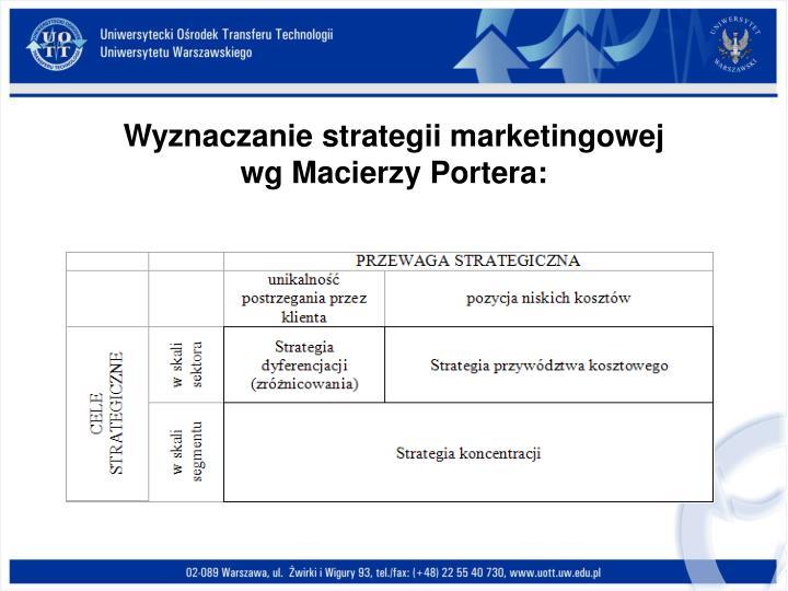 Wyznaczanie strategii marketingowej
