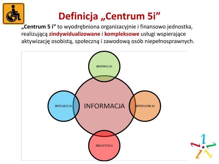 "Definicja ""Centrum 5i"""