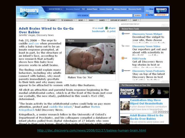 http://dsc.discovery.com/news/2008/02/27/babies-human-brain.html