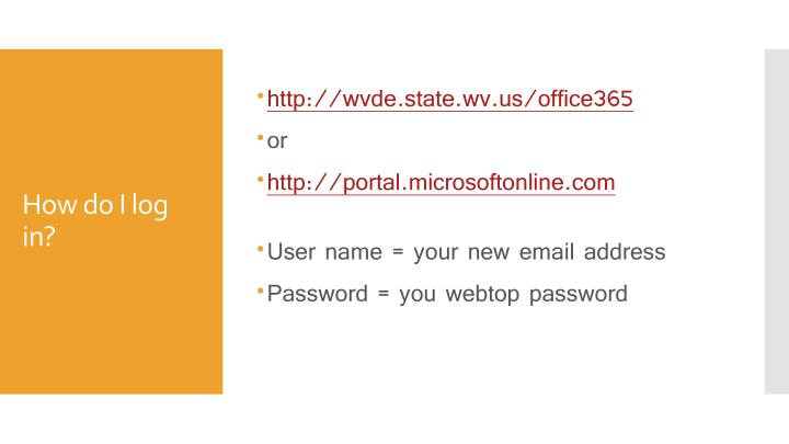 http://wvde.state.wv.us/office365