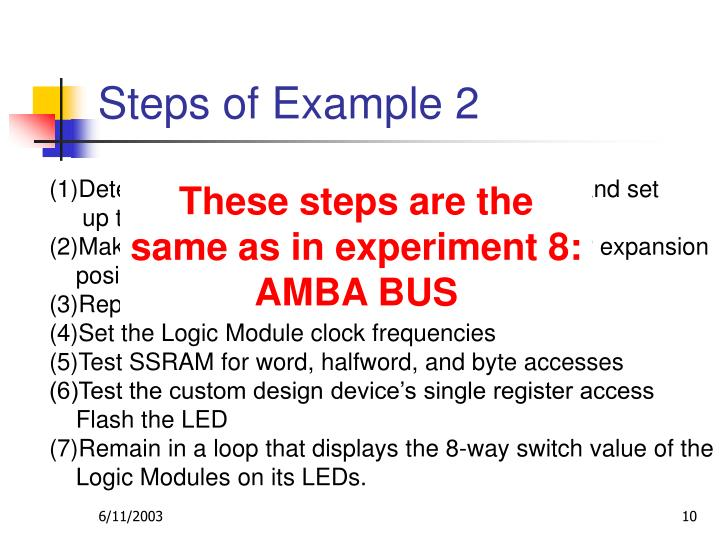 Steps of Example 2
