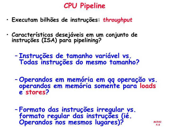 CPU Pipeline