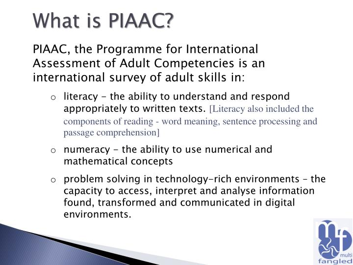 What is PIAAC?