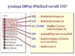 dbpop 2557