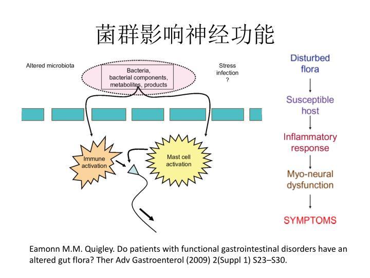 菌群影响神经功能
