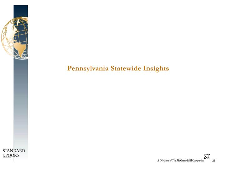 Pennsylvania Statewide Insights