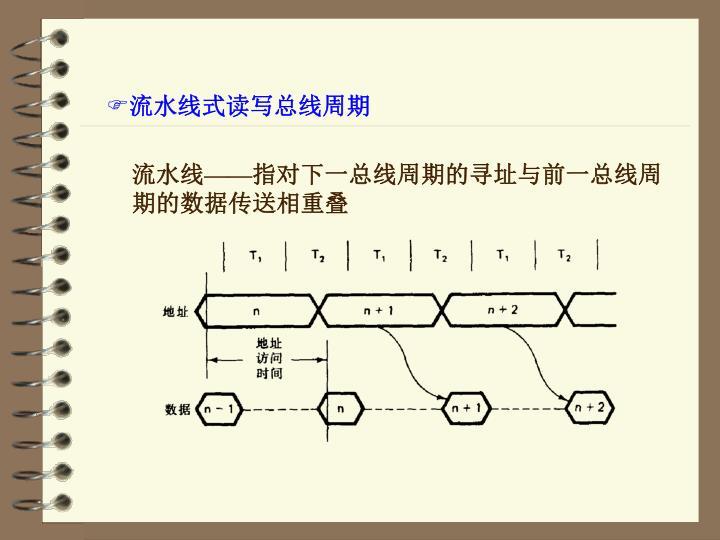 流水线式读写总线周期