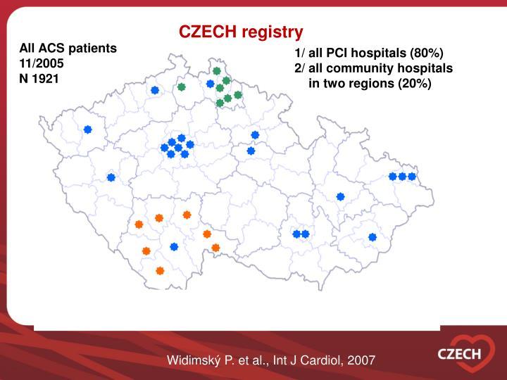 CZECH registry