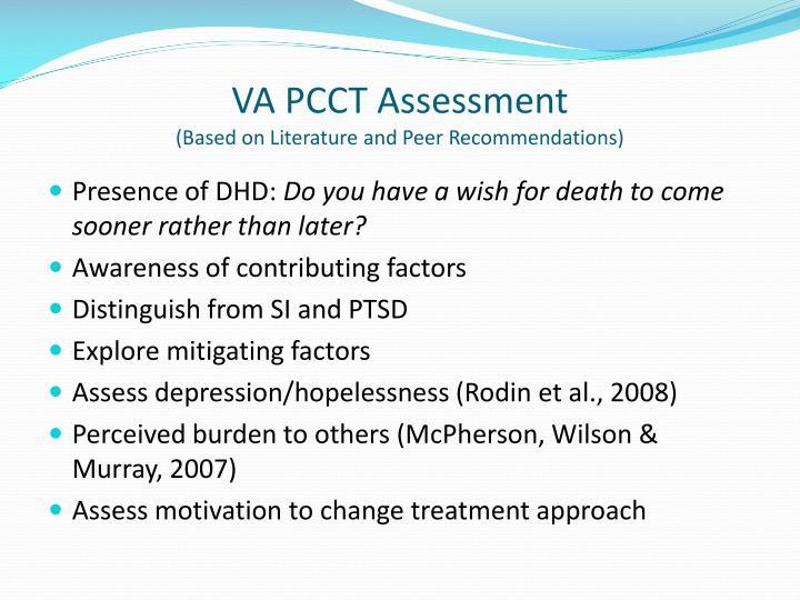 VA PCCT Assessment