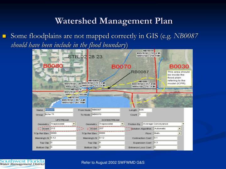 Watershed Management Plan